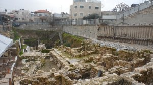 Archaeological sites, such as the City of David in East Jerusalem, above, reveal past civilizations throughout the Holy Land. Photo by Leisah Woldoff